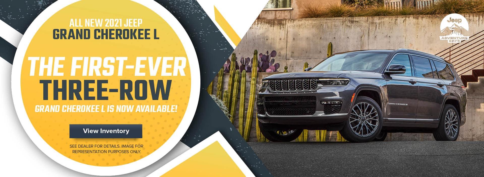 ALL NEW 2021 Jeep Grand Cherokee L