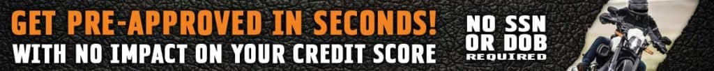 Get Pre-Approved for a Harley Loan in Seconds