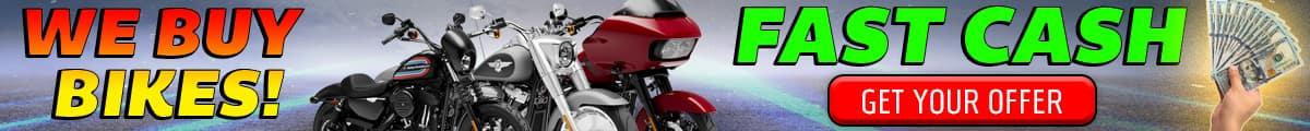 Cash Offers for Harleys