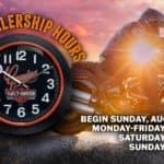 New Dealership Hours